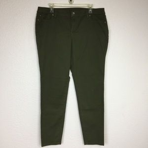 NWT Style & Co low rise skinny leg jean size 16